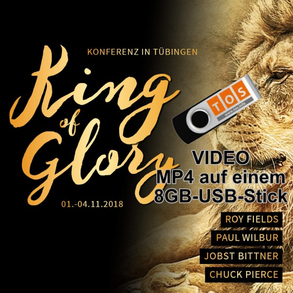 King of Glory VIDEO (MP4) alle Botschaften auf USB-Stick