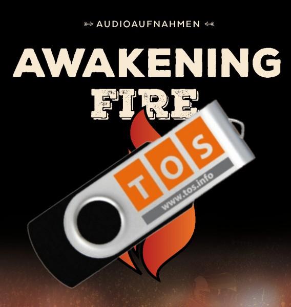 MP3 - Awakening Fire 2016 komplett auf USB-Stick